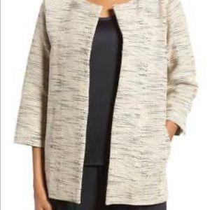 EILEEN FISHER Handloomed Cotton Blazer/Jacket NWT